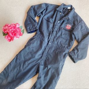 Vintage Phillips 66 Navy Heavy Duty Coveralls
